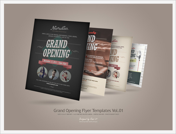 grand opening flyers vol 02 by kinzi21 graphicriver