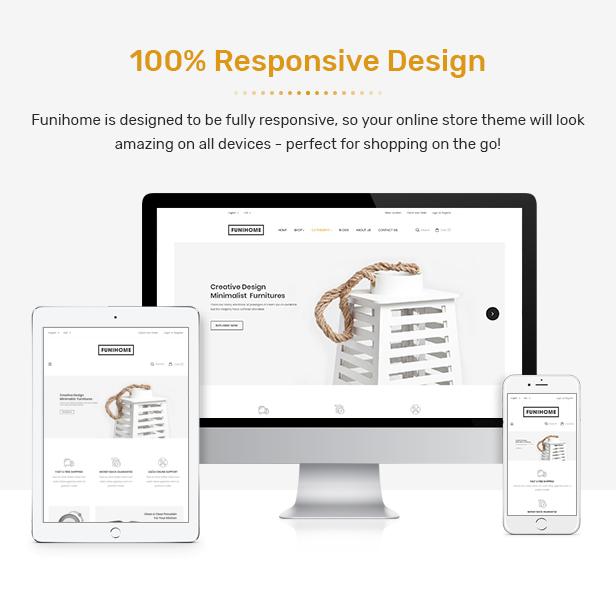 FuniHome - Responsive PrestaShop 1.7 Furniture Shop Theme - 2