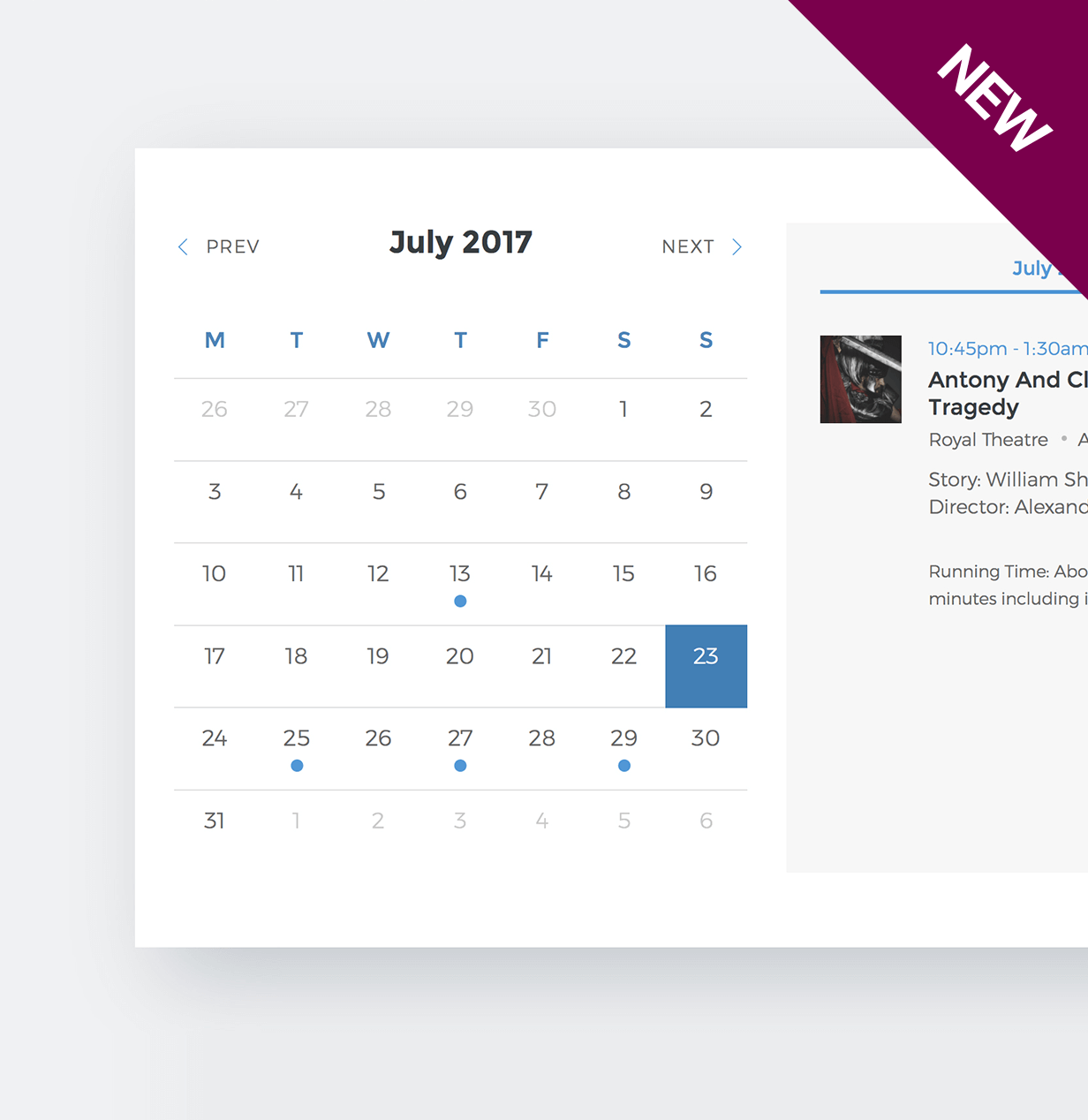 Events Schedule - WordPress Events Calendar Plugin - 4