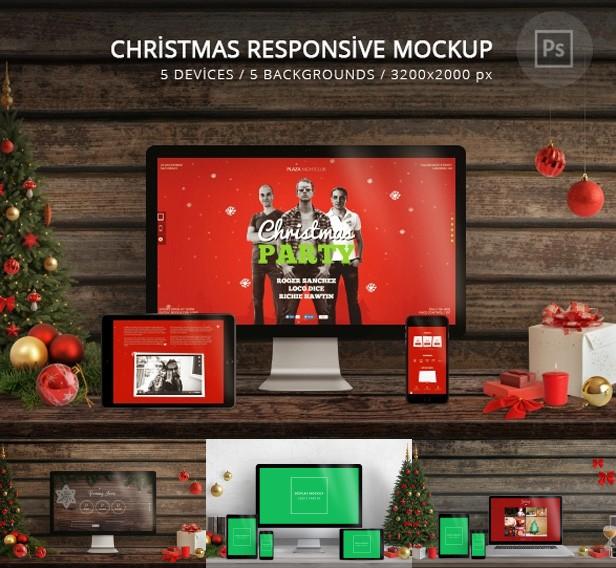 Santa Christmas Mockup - 4