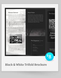 Rebellion Trifold Brochure - PSD Template - 10