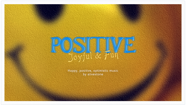 happy fun positive music