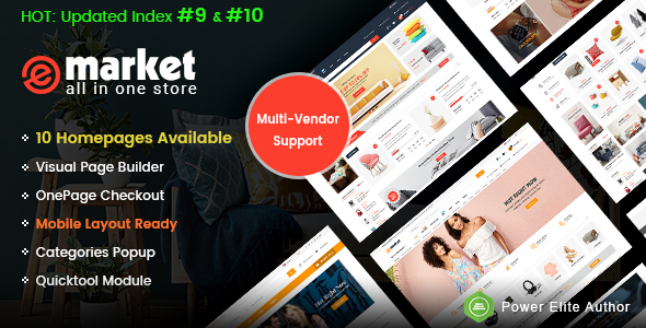 Market - Premium Responsive OpenCart Theme with Mobile-Specific Layout (12 HomePages) - 6