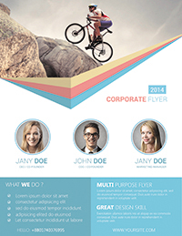 corporate flyer template by rtralrayhan graphicriver