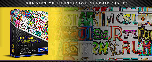 Detailed Illustrator Styles