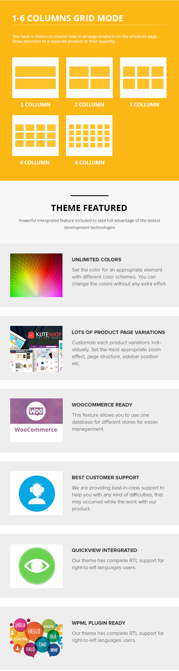 KuteShop -  Super Market Responsive WooComerce WordPress Theme - 6