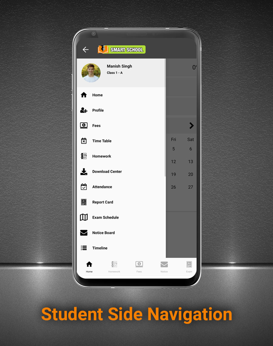 Smart School Android App - Mobile Application for Smart School - 4