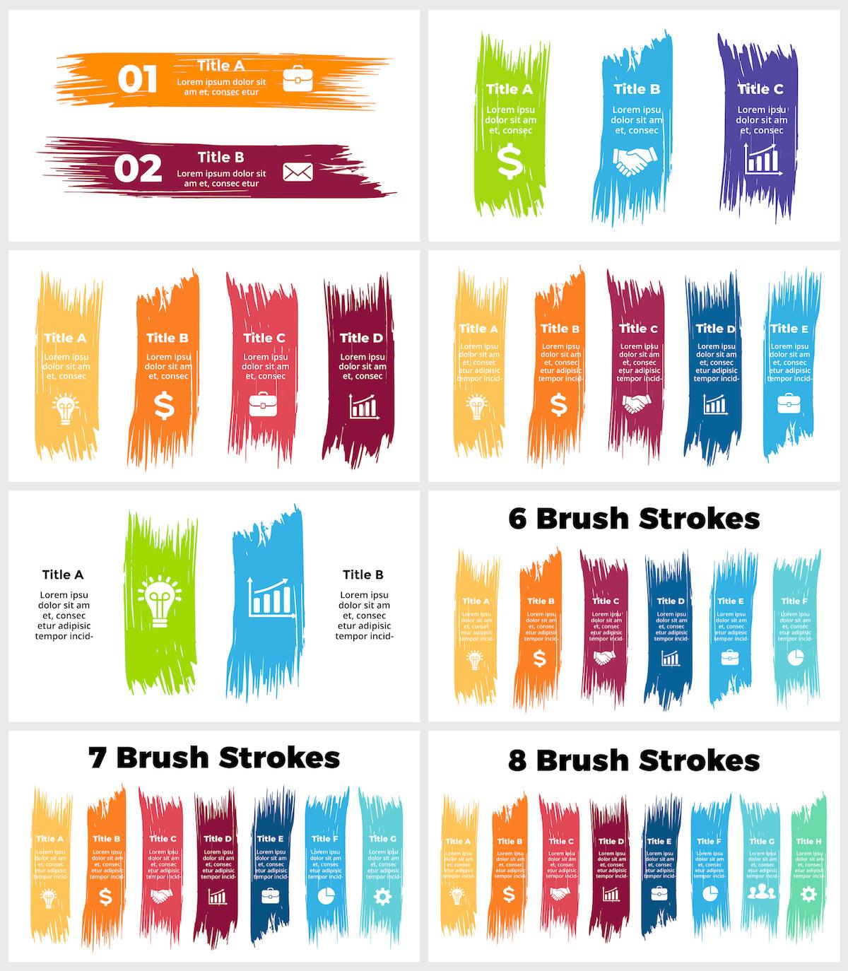 Huge Infographics Bundle! Lifetime Updates! PowerPoint, Photoshop, Illustrator. - 66