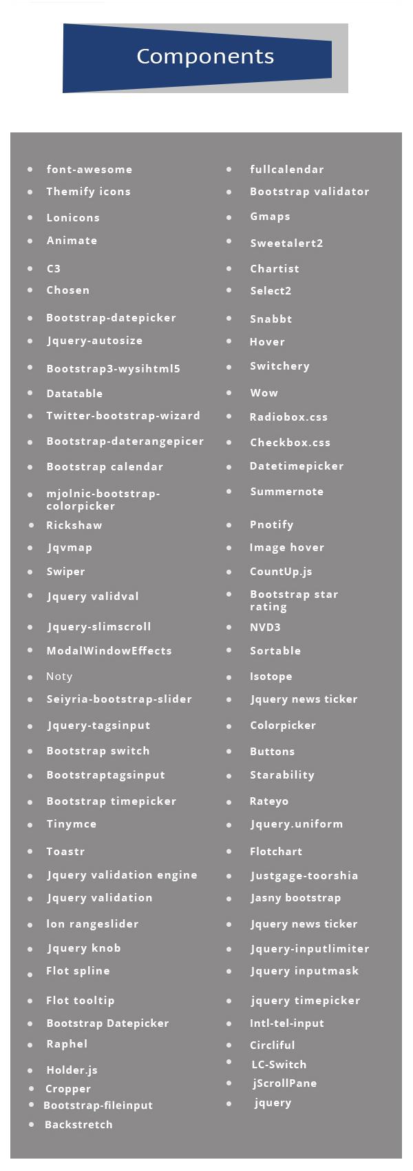 Admire - Bootstrap 4 Admin + Laravel Template - 9
