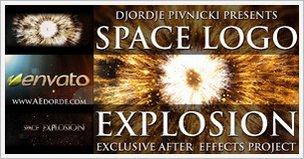 Space Logo Explosion