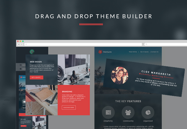 Venture - Responsive Email Template