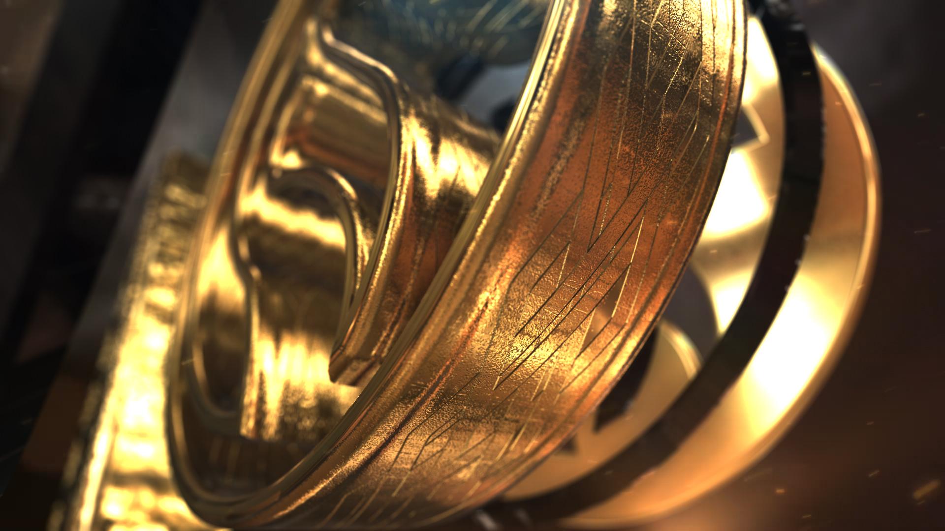 Gold Element Logo - 3