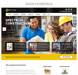 Spectrum - Multi-Trade Construction Business Theme - 5