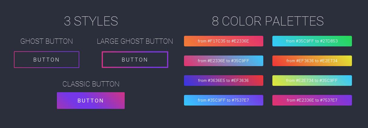 Gradient Buttons - 1