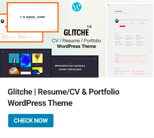Glitche WordPress Theme