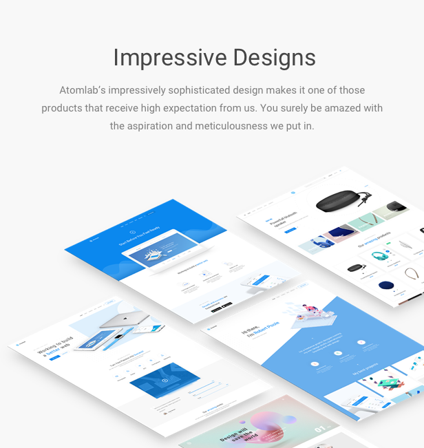 ATOMLAB - MULTI-PURPOSE WORDPRESS THEME FOR STARTUPS