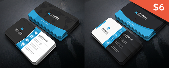 Corporate business card by gowes graphicriver support colourmoves