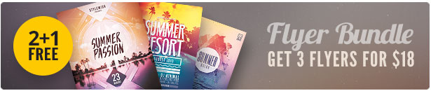 Summer Flyer Bundle Vol15