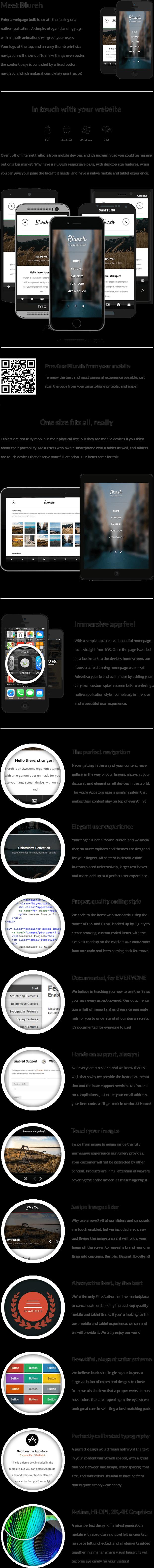 Blureh Mobile   Mobile Template - 9