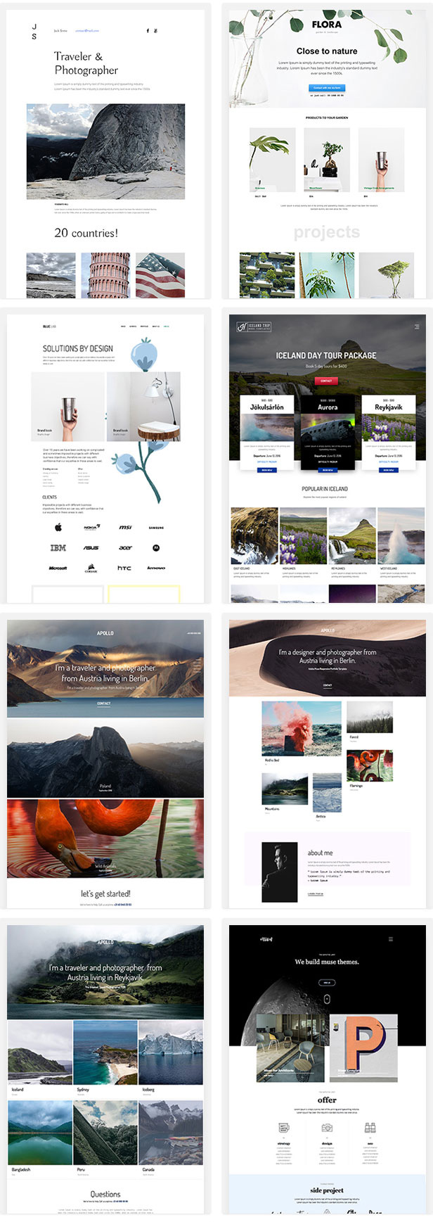 Responsive Adobe Muse Templates