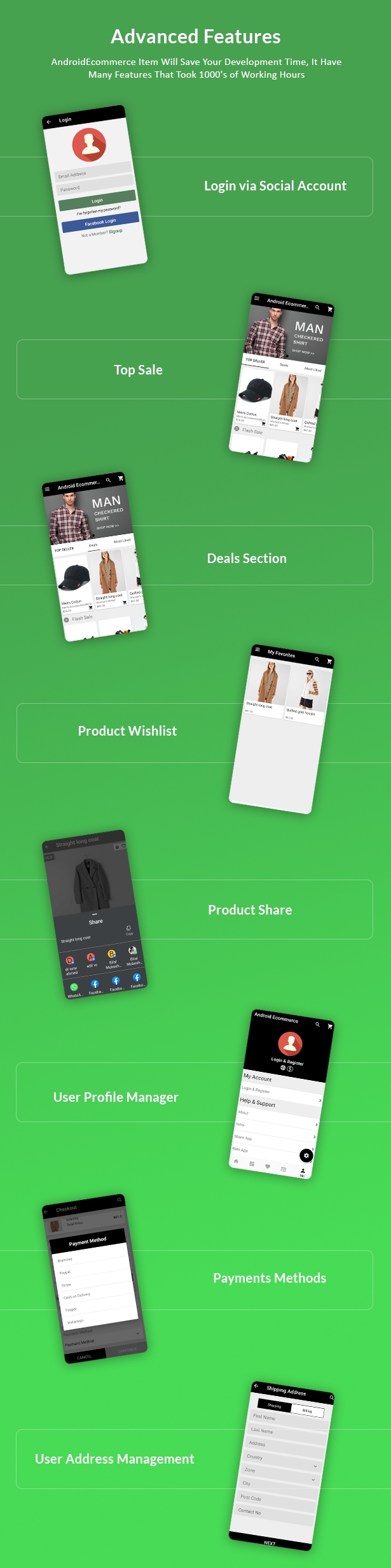 Android Ecommerce - Universal Android Ecommerce / Store Full Mobile App with Laravel CMS - 21