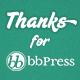 bbPress Thanks - WordPress Plugin - CodeCanyon Item for Sale