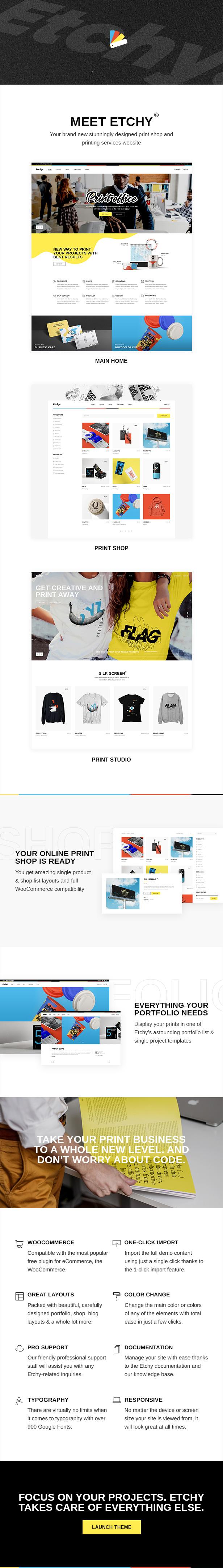 Etchy - Print Shop WordPress Theme - 1