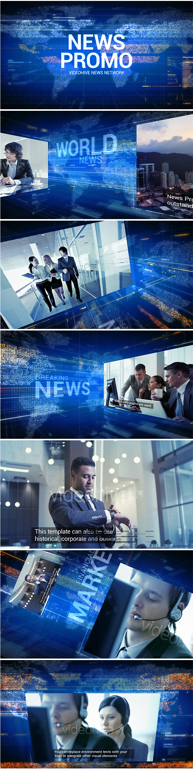 News Promo After Effects Template