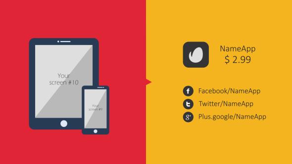 Colorful Flat App