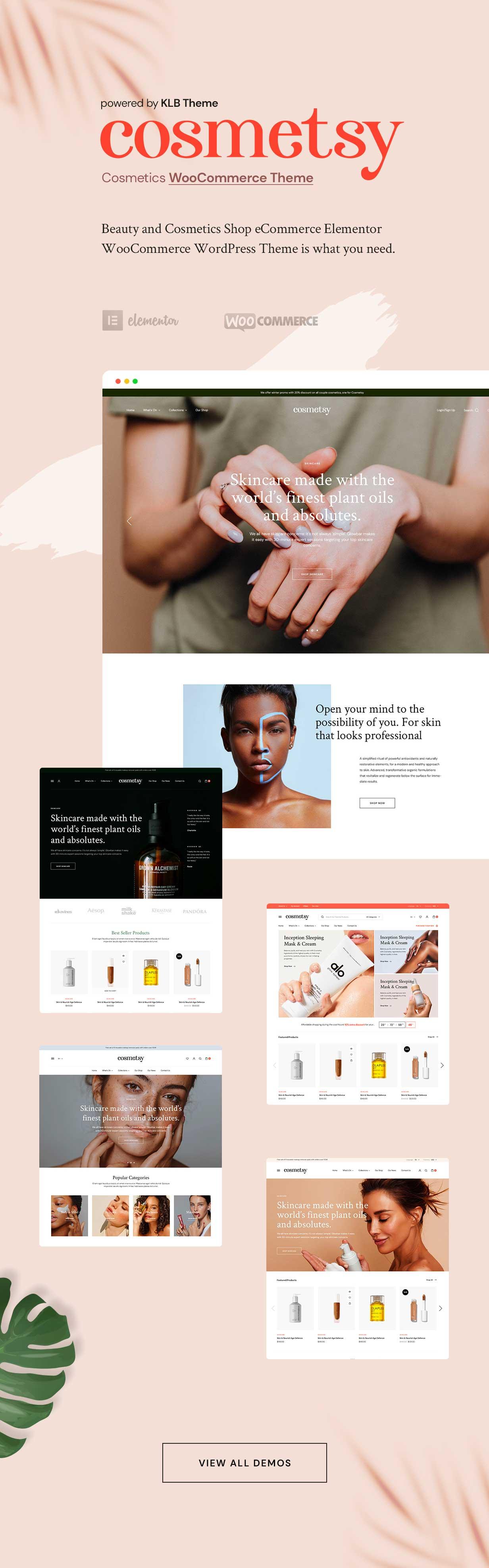 Cosmetsy - Beauty Cosmetics Shop Theme - 1