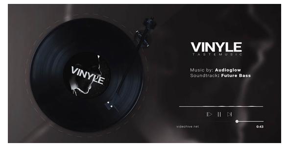 Vinyl Music Visualizer - 3