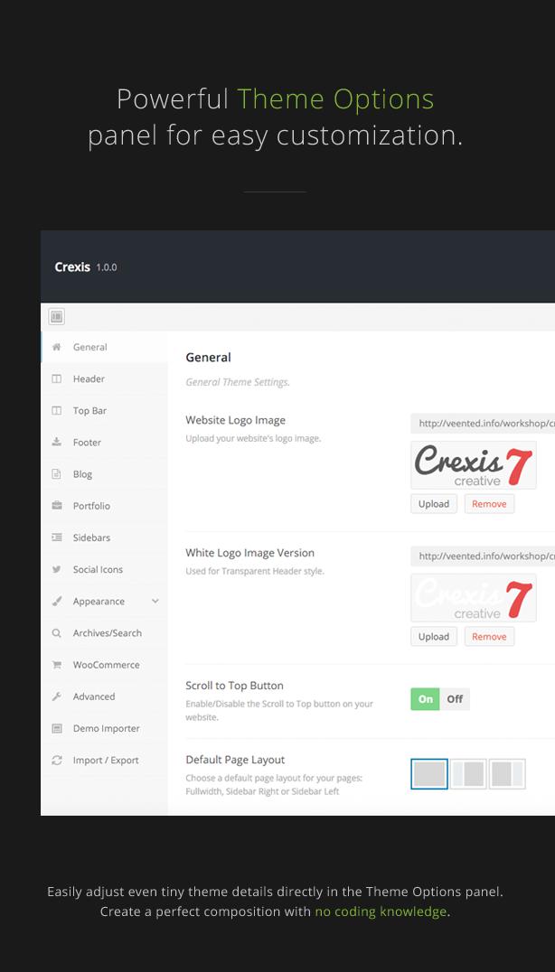 Crexis - Responsive Multi-Purpose WordPress Theme - 2