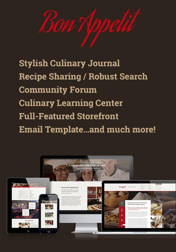 Bon Appetit   A Stylish Culinary Journal - 2