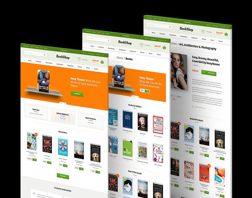 Joomla bookstore template quantumgaming bookshop psd templatehezytheme themeforest powerpoint templates toneelgroepblik Images
