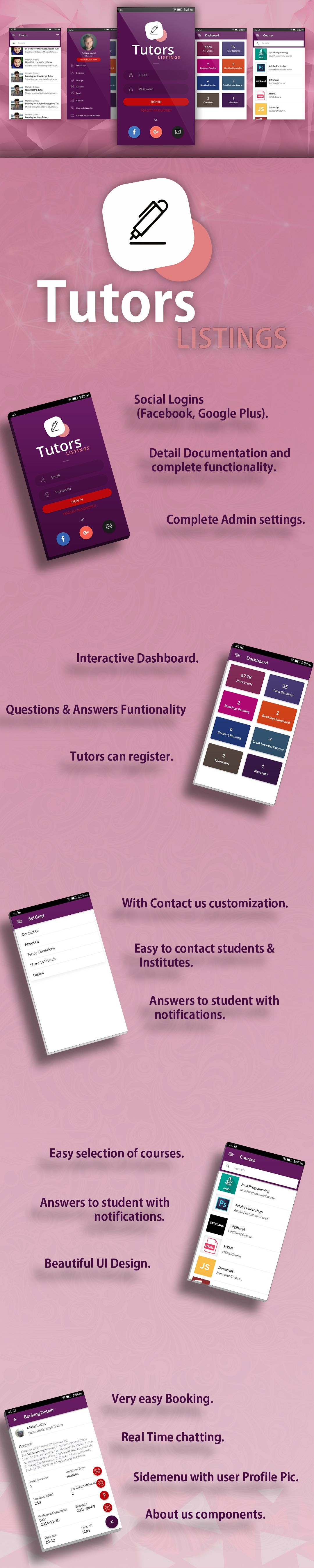 Tutors Mobile App