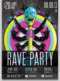 rave event 3D
