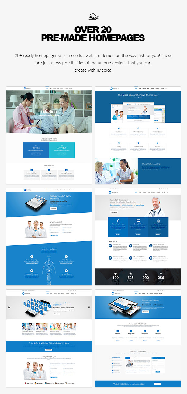 iMedica - Responsive Medical & Health WP Theme - 15