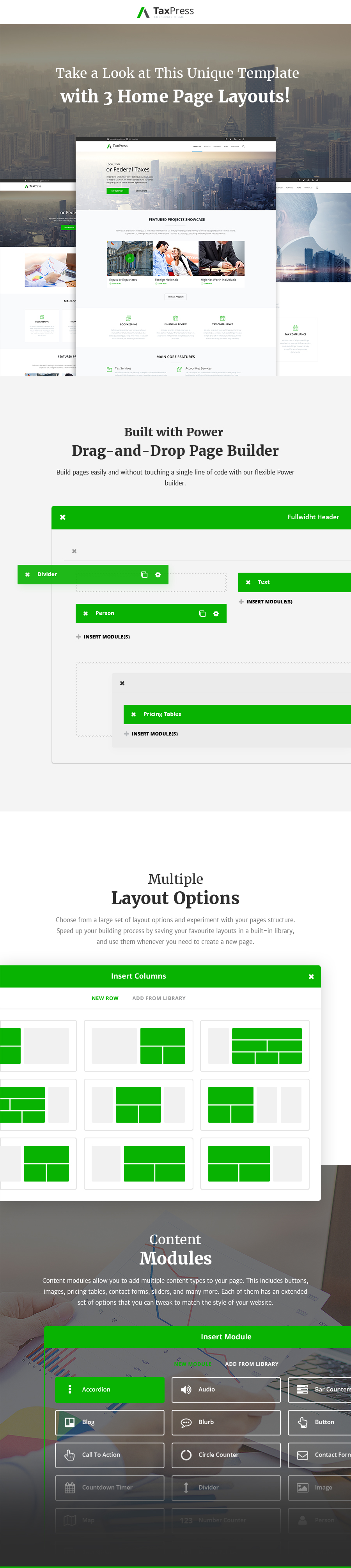 TaxPress - Consulting Services WordPress Theme - 1
