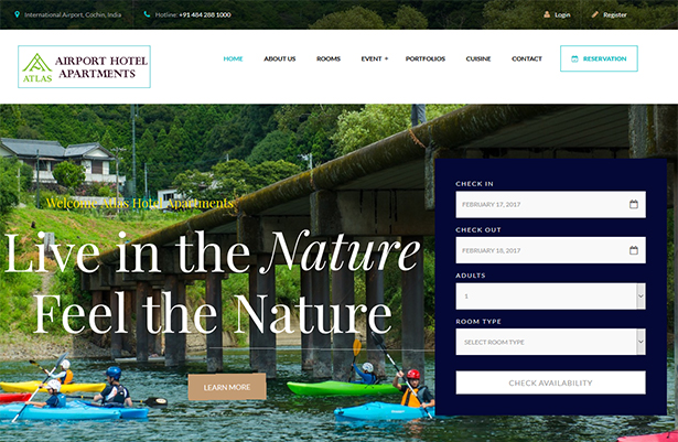 Paradise - Hotel & Resort Responsive WordPress Theme - 3