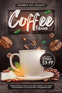 146-coffee-house-flyer