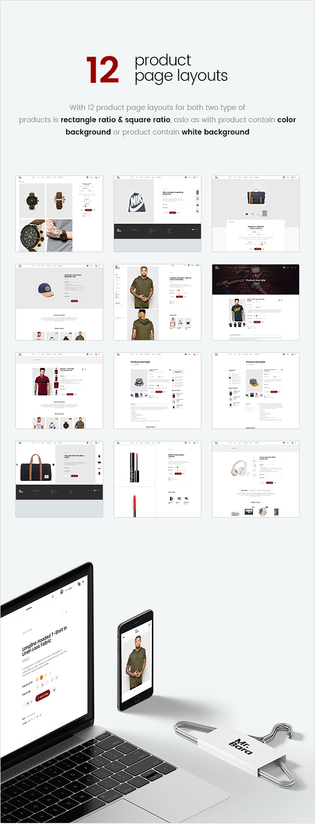 Mr.Bara - Responsive Multi-Purpose eCommerce WordPress Theme - 17