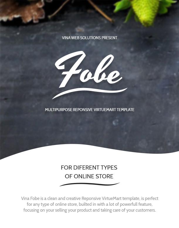 Vina Fobe - Multipurpose Responsive VirtueMart Template - 14