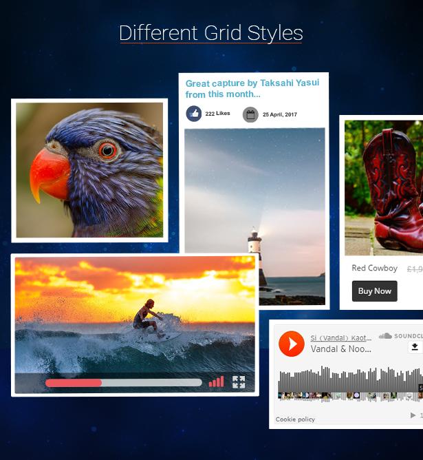 Grid FX - Ultimate Grid Plugin for WordPress - 8