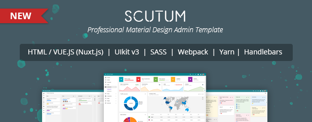 Altair - Admin Material Design UIkit Template by tzd | ThemeForest
