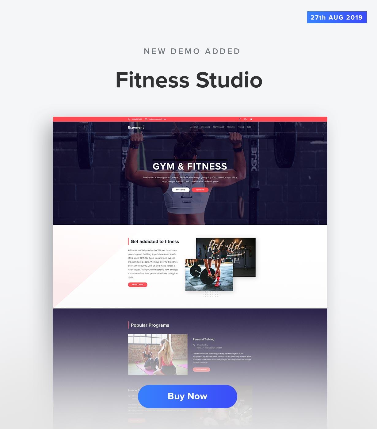 Fitness Demo