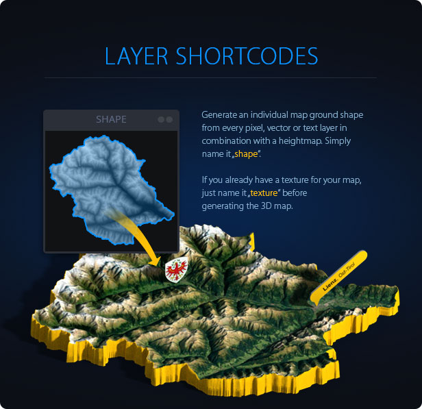 3D Map Generator - 3D Mapper - Photoshop Plug-in - 7