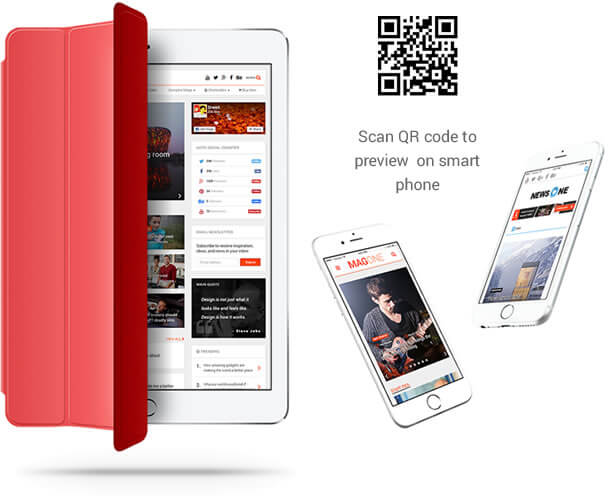 Mobile Friendly Responsive News WordPress Theme