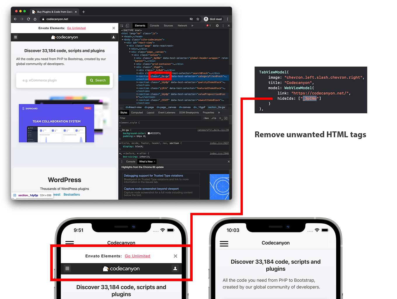 SwiftUI WebView App | Full iOS Application - 4