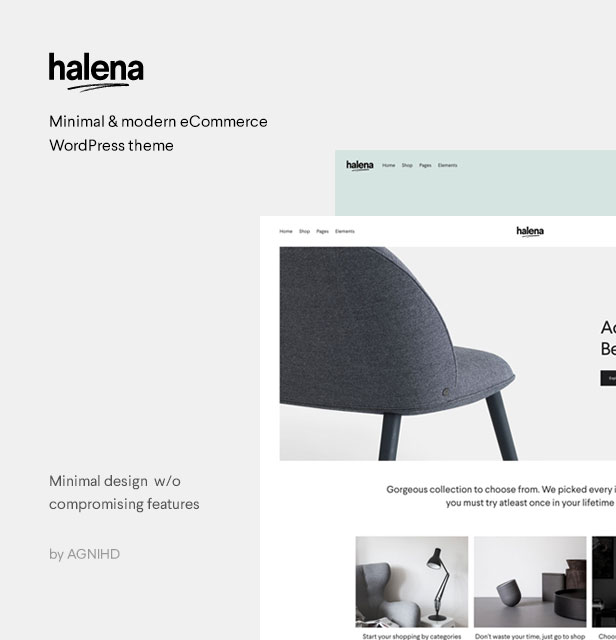 Halena | Minimal & Modern eCommerce WordPress Theme - 2